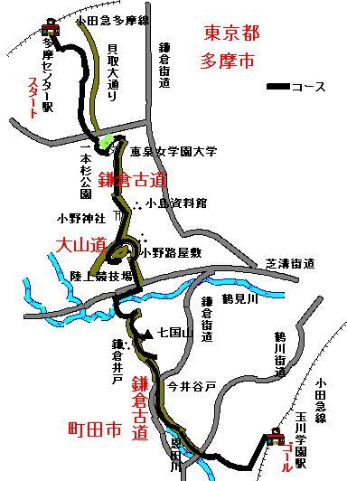 鎌倉古道・大山道